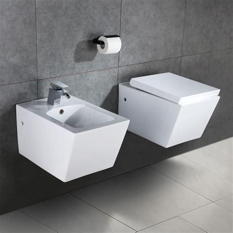 Klo Mit Bidet homelody dusche tiefsp 252 ler toilette wcsitz wand wc klo