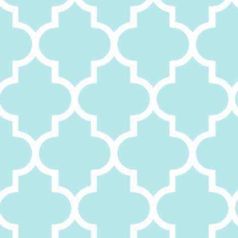 quatrefoil pattern photoshop moroccan mint quatrefoil pattern fabric by inspirationz on
