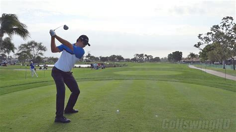 how to swing your driver golf swing 2013 justin rose driver regular speed