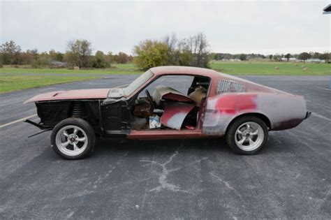 mustang fastback project for sale 1968 mustang fastback project classic ford mustang 1968