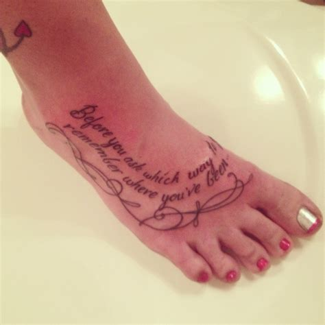 compass tattoo before you ask all time low tattoo on my foot lyrics from quot stay awake