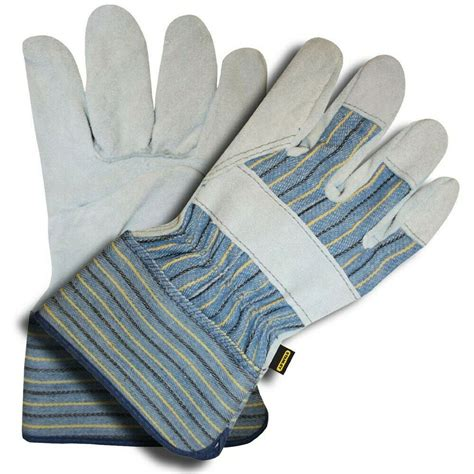Cowhide Leather Work Gloves - stanley cordova s72221 quality cowhide leather palm work