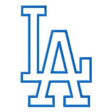 la tattoo logo los angeles dodgers baseball la logo baseball logos