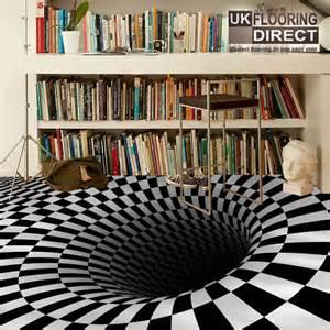 bathroom floor illusions optical illusion flooring concept modern vinyl