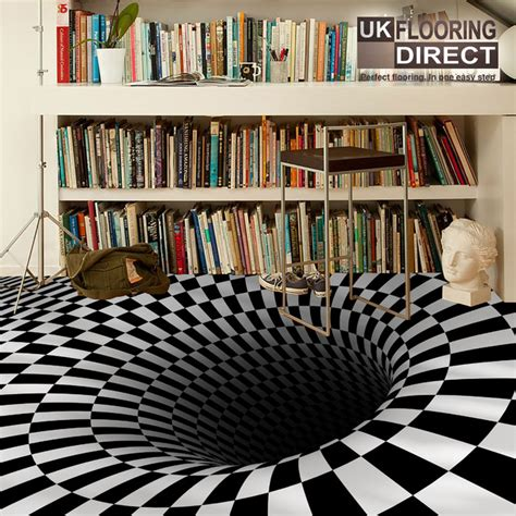 bathroom floor illusions 10 strange looking but amazing home floors home office geeks