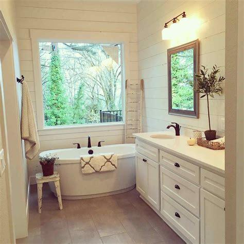 Farmhouse Bathroom Lighting Magnificent Farmhouse Style Bathroom Lighting Antique Sink S Design Farm Bath Master S Farmhouse