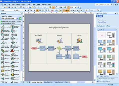 visio display microsoft visio professional 2007 version