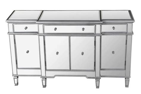 Bedroom Sideboard Furniture This Nicollete Mirroed Side Board Collection Features A Sophisticated And Glamorous Look For