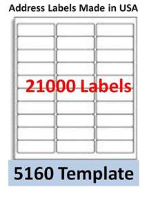 Avery Laser Label Templates 21000 laser ink jet labels 30up address compatible with