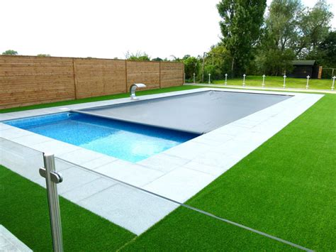 covered swimming pool automatic safety covers and safety covers cascade pools