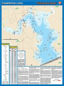 shabbona lake fishing map