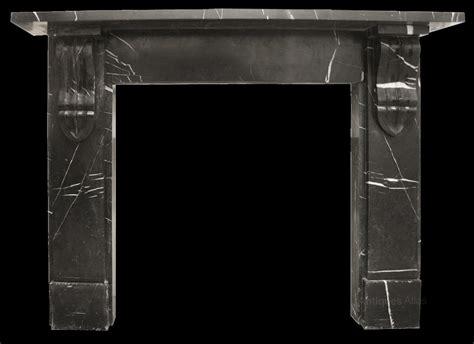 antiques atlas black marble fireplace surround