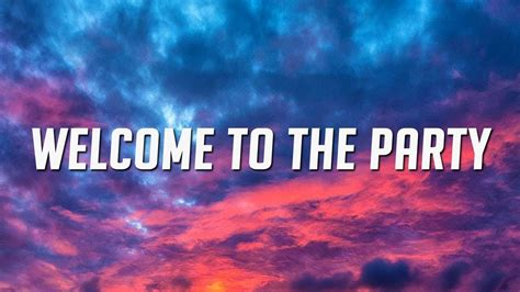 lil pump welcome to the party lyrics lil pump welcome to the party lyrics lyric video