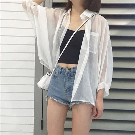 Sale Handuk Polos Dewasa Anak itgirl shop turtle neck embroidery sleeve cotton blouse