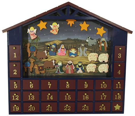 advent wooden calendars calendar template 2016