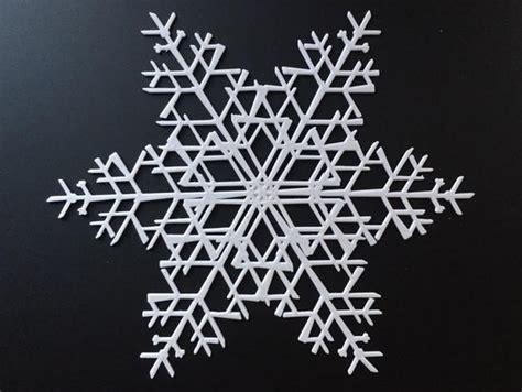 3d snowflakes printable instructions snowflake machine makes one billion unique snowflake
