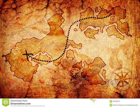 Word Vorlage Schatzkarte Oude Schatkaart Stock Foto Afbeelding Bestaande Uit Writing 21650970