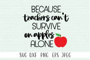 because teachers can t survive on apples alone by cut