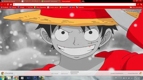 google themes anime one piece google chrome themes one piece