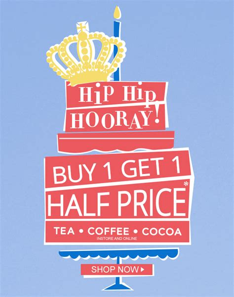 Buy One Get One Half Price But Be by The Hub 187 Whittard Buy 1 Get 1 Half Price