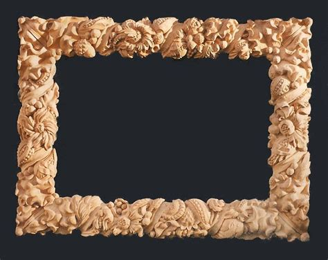 Modern Furniture And Home Decor by Custom Wood Carved Mirror Frame By Wood Carving Michael