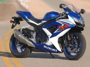 2008 Suzuki Gsx 2008 Suzuki Gsx R750 Comparison Motorcycle Usa