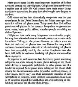 Essay Some Believe That While At School We Should Concentrate by Persuasive Essays On Cell Phone Use In Schools Can You