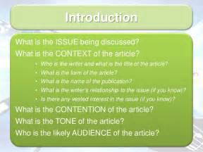 structure of a language analysis essay