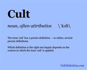cult definition what is a cult