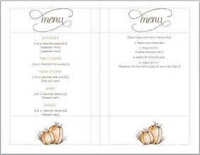 free printable menu templates for blank menu templates free best agenda templates
