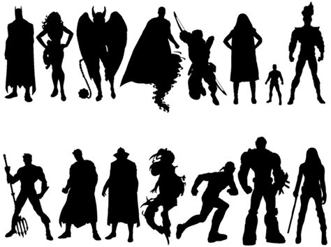 Silhouette Quiz Answers