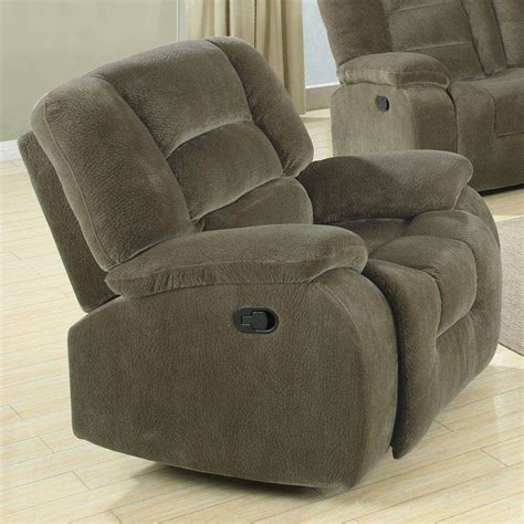 fabric glider recliner with ottoman brown fabric glider recliner steal a sofa furniture