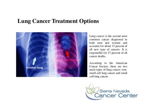 is there a cure for lung cancer lung cancer treatment options