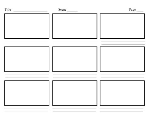 The Role Of Storyboarding In Ux Design Smashing Magazine Ux Storyboard Template
