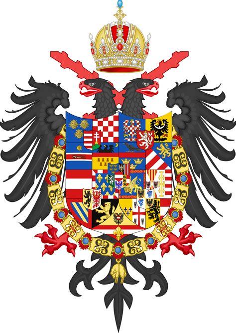 house of habsburg eu3 house of habsburg greater coa by khrysophylax on deviantart