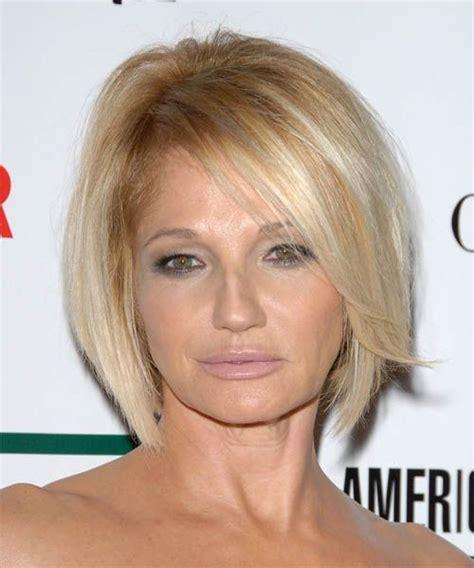 ellen barkin pixie cut layered wedge haircut for fine hair short hairstyle 2013