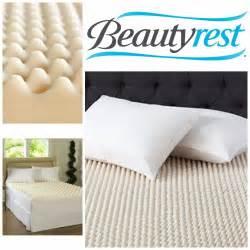 King Size Bed Foam Topper Beautyrest Mattress Pad Convoluted Foam Mattress Topper King Size Bedding Ebay