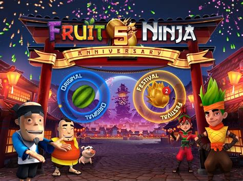 fruit 5th fruit 5th anniversary update out now halfbrick studios