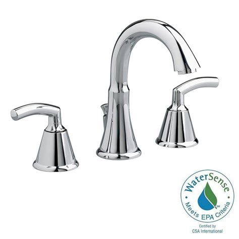 american standard faucets bathroom american standard tropic 8 in widespread 2 handle mid arc