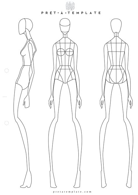 Fashion Figure Templates by Figure Fashion Template D I Y Your Own Fashion