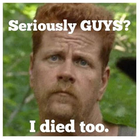 D Aww Meme - so many great twd season 7 episode 1 memes aww abe