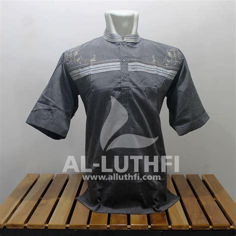 Baju Koko Al Luthfi Bm Al 26 baju koko al luthfi tangan pendek al 019 al luthfi