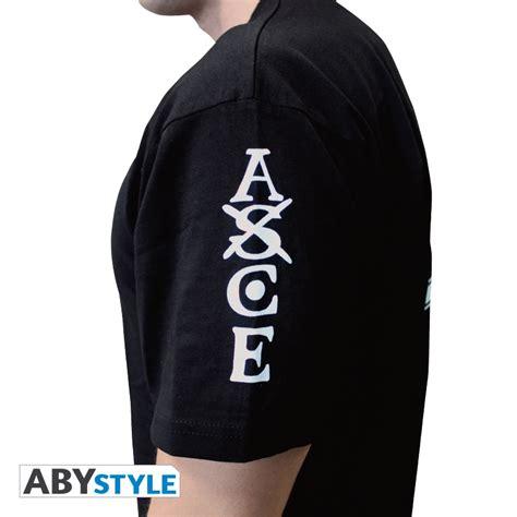 T Shirt Kaos Portgas D Ace One New Fullprint Putih Kd Cwm 139 one t shirt ace abystyle