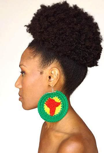 styling afro natural hair easy updo hairstyles