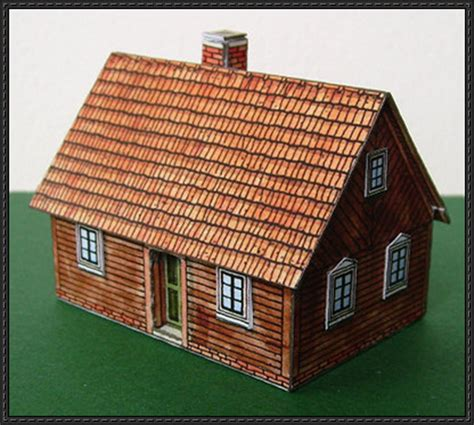 House Paper Craft - papercraftsquare new paper craft a spreewald wooden