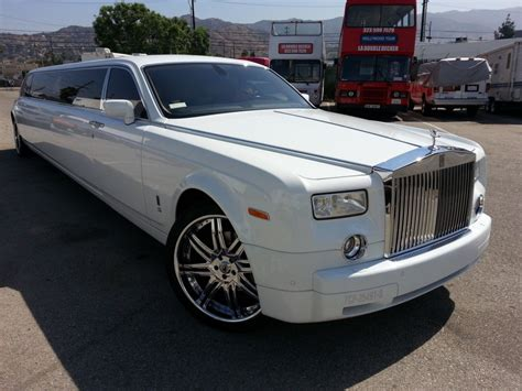 limousine rolls royce 2004 rolls royce phantom limousine for sale