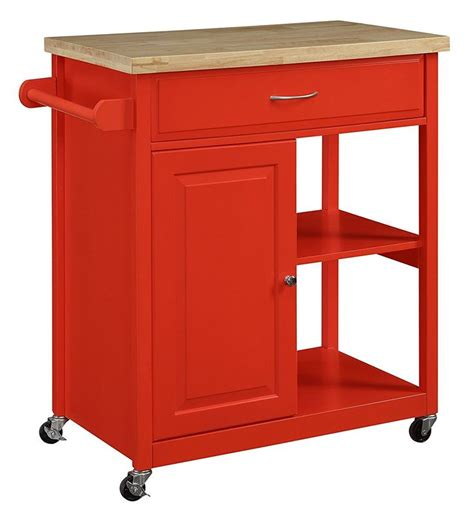 red kitchen cart island best 25 mobile kitchen island ideas on pinterest