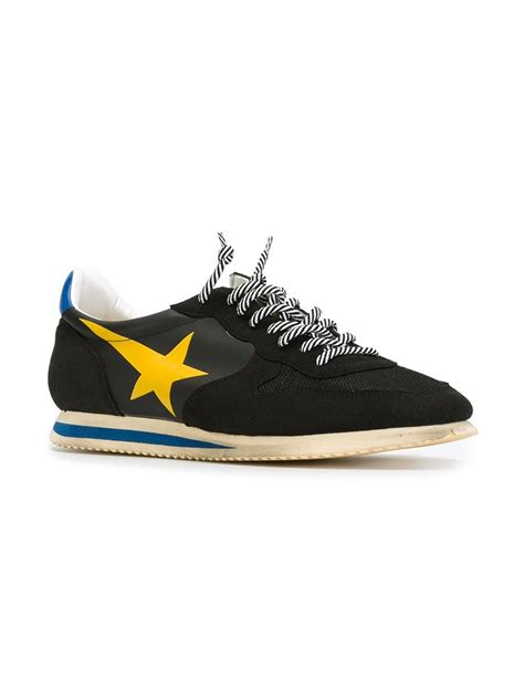 golden goose sneakers sale golden goose deluxe brand haus sneakers in yellow for