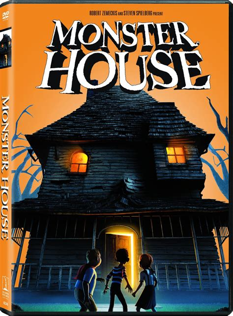 monster house com monster house dvd cover pictures to pin on pinterest