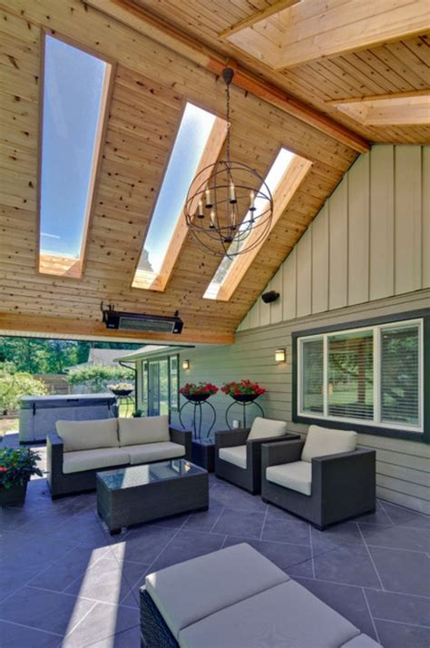 704 best outdoor spaces images on pinterest roof terraces skylights in patio roof outdoor room ideas pinterest